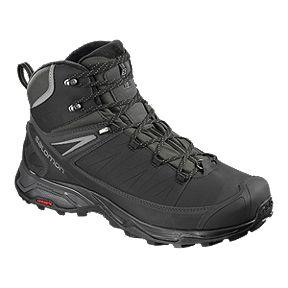 cheaper 39b81 f40bd Salomon Men s X Ultra Mid ClimaShield Waterproof Winter Boot - Black