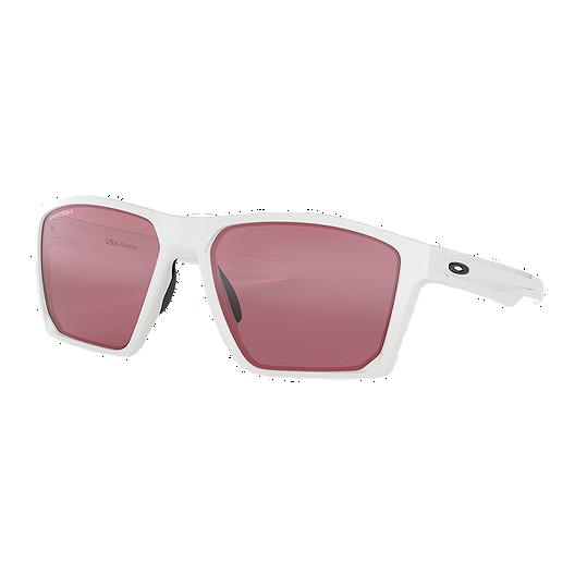 e2ed9ea8f Oakley Targetline Sunglasses- Polished White with Prizm Dark Golf ... oakley  prizm dark