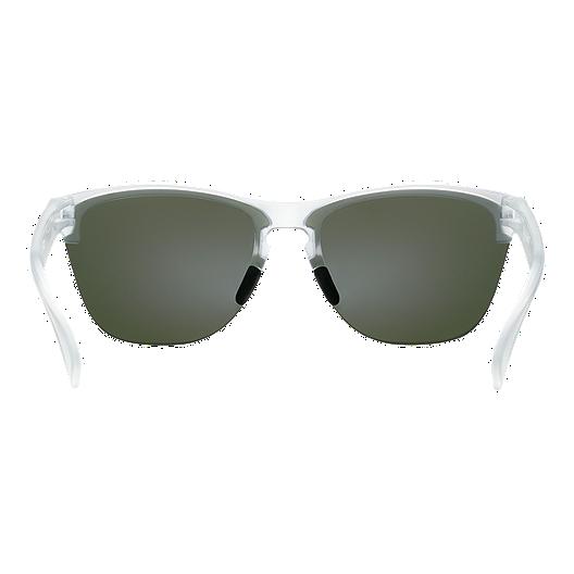 f0b20ec4f Oakley Frogskins Lite Sunglasses- Matte Clear with Violet Iridium Lenses.  (0). View Description
