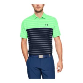 Under Armour Men's Playoff Polo - Green Typhoon