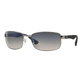 Ray-Ban RB3478 Polarized Sunglasses - Gunmetal/Black with Blue/Grey Gradient Lenses