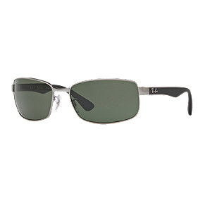 Ray-Ban RB3478 Polarized Sunglasses - Gunmetal/Black with Polar Green Lenses