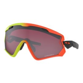 Oakley Wind Jacket 2.0 Harmony Fade Collection Sunglasses - Harmony Fade with Prizm Snow Black Iridium Lens