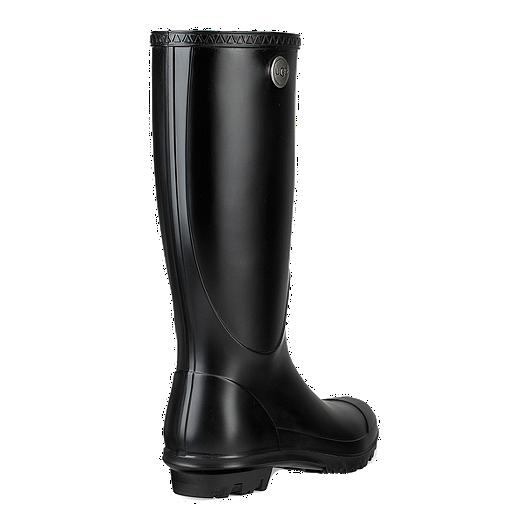 e5aa45397fc1 Ugg Women s Shelby Matte Rain Boots - Black. (0). View Description