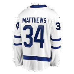 Toronto Maple Leafs Fanatics Auston Matthews Replica White Jersey ... 0c864c497