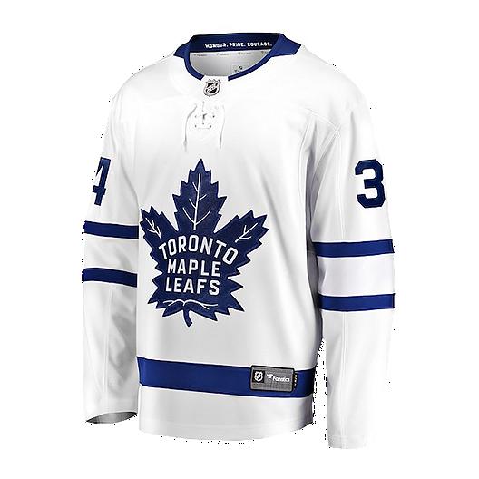 low priced c3c01 acf2b Toronto Maple Leafs Fanatics Auston Matthews Replica White Jersey