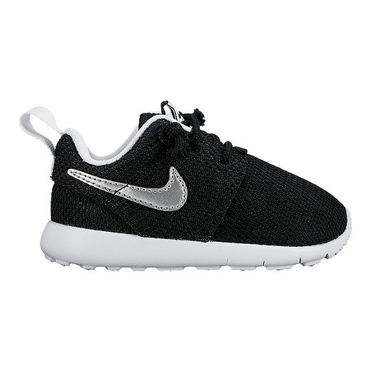 Soltero diario boicotear  Nike Toddler Roshe One Shoes - Black/White/Silver | Sport Chek