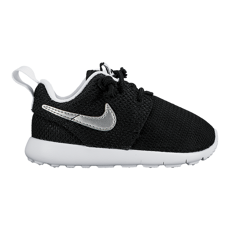 multitud carta Abundantemente  Nike Toddler Roshe One Shoes - Black/White/Silver | Sport Chek