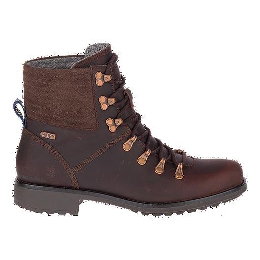 eede9bad5a Merrell Women s Sugarbush Belaya Lace Wp Boots - Espresso