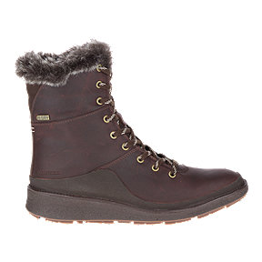 Merrell Women's Tremblant Ezra Lace Wp Winter Boots - Ice And Espresso