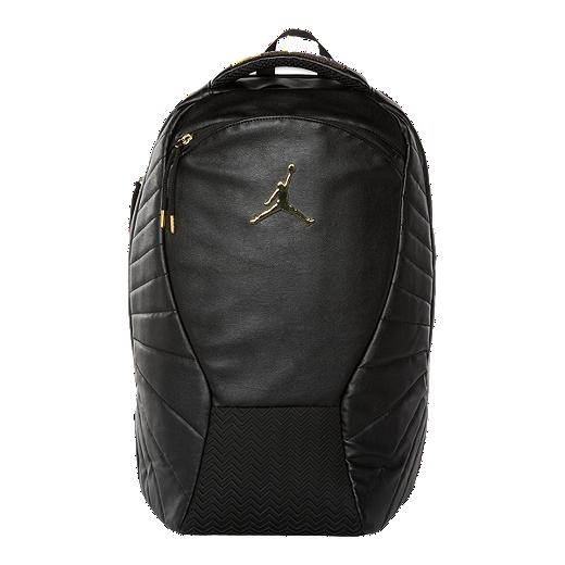 e0815b1c327 Haddad Jordan Men's Retro 12 Backpack - BLACK/GOLD