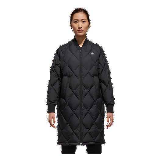 20a3da20b adidas Women's Long Bomber Jacket