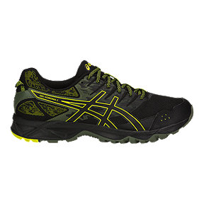 ASICS Men's GEL-Sonoma 3 Running Shoes - Black/Green