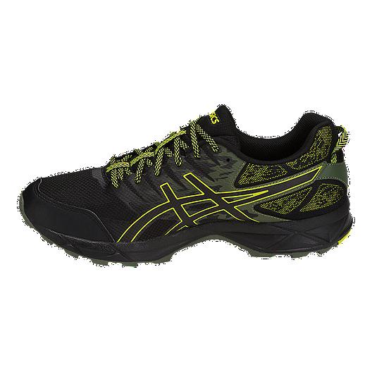 653ef50e7e6d ASICS Men s GEL-Sonoma 3 Running Shoes - Black Green