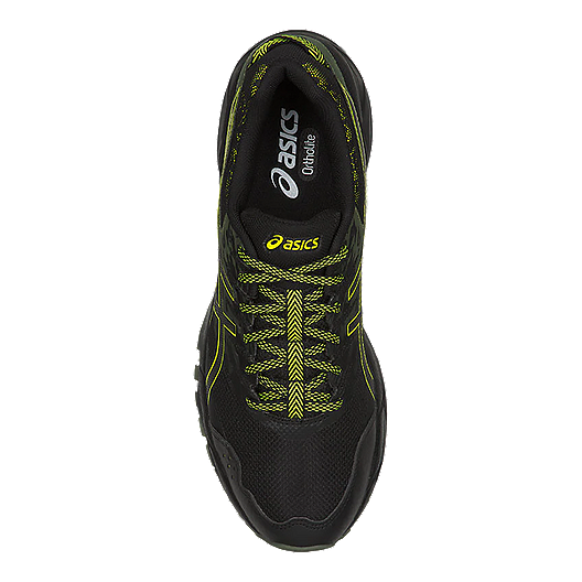 79831adfcab ASICS Men's GEL-Sonoma 3 Running Shoes - Black/Green   Sport Chek