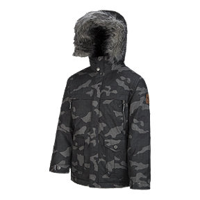 Columbia Boys' Barlow Pass TurboDown Insulated Winter Parka Jacket