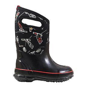 74bef72eece5 Bogs Boys  Classic Hockey Winter Boots - Black Red