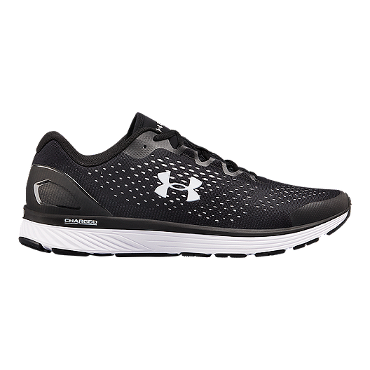f89cd5b34a Under Armour Men's Charged Bandit 4 Running Shoes - Black/White