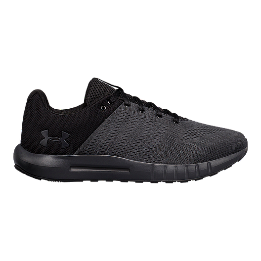 b5332760a6 Under Armour Men s Micro G Pursuit 4E Running Shoes - Anthracite Black White