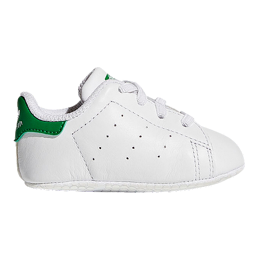 huge discount 0de18 9f3da adidas Baby Stan Smith Crib Shoes - White/Green | Sport Chek