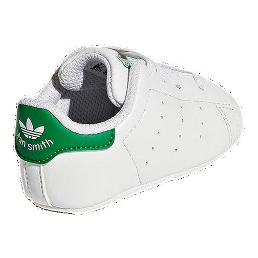 half off d9b51 8c202 adidas Baby Stan Smith Crib Shoes - White Green. (0). View Description
