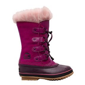 4da1198d195 Sorel Girls  Joan of Arctic Winter Boot - Raspberry Purple Dahlia