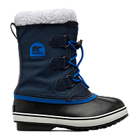 Sorel Kids Yoot Pac Nylon Collegiate Grade School Winter Boots - Navy/Blue