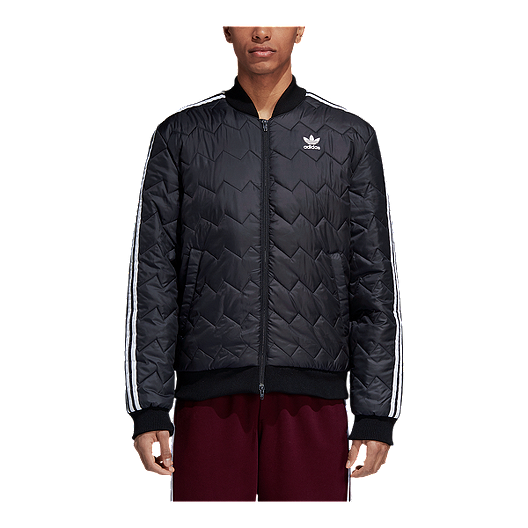 36e118787 adidas Men's SST Quilted Bomber Jacket