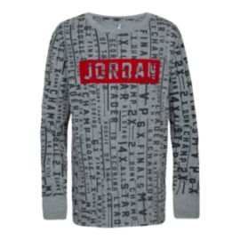 Nike Jordan Toddler Boys' DFC Successful Long Sleeve Shirt