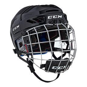 9d333a75d8c CCM Fitlite 3DS Junior Hockey Helmet Combo