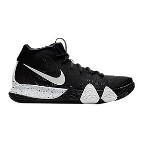 a0c41162a87 Nike Men s Kyrie 4 TB Basketball Shoes - Black White