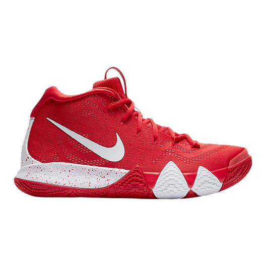 654130e89629 Nike Men s Kyrie 4 TB Basketball Shoes - Red White