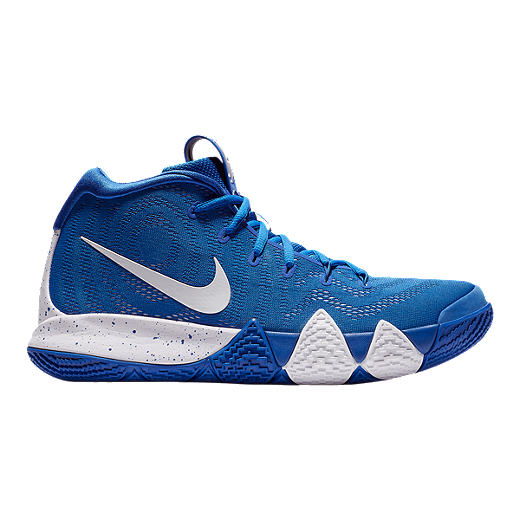 super popular 98bd2 b63e9 Nike Men s Kyrie 4 TB Basketball Shoes - Royal White - ROYAL WHITE