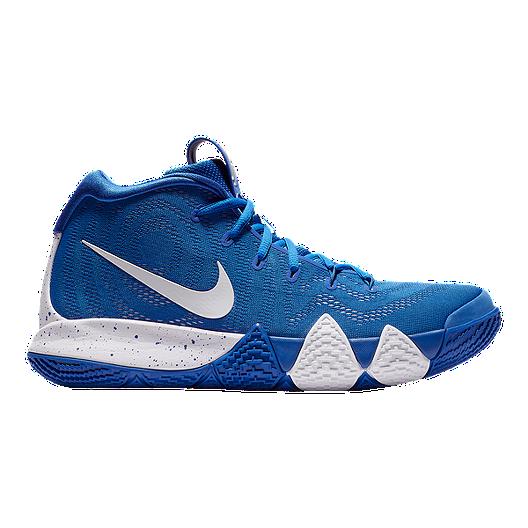 964ce105c72f Nike Men s Kyrie 4 TB Basketball Shoes - Royal White