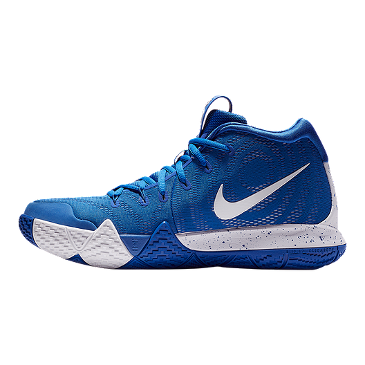 quality design 7e4b4 40953 Nike Men's Kyrie 4 TB Basketball Shoes - Royal/White | Sport ...