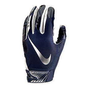 9260d970645 Nike Vapor Jet 5.0 Football Gloves - Navy Chrome
