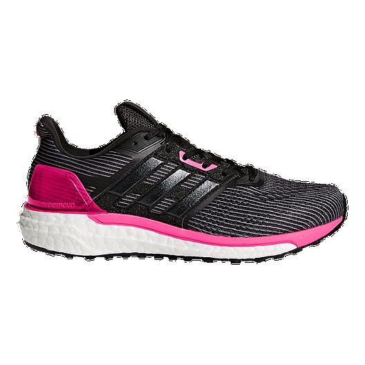 ceb1a0af2 adidas Women s Supernova Boost Running Shoes - Black Pink