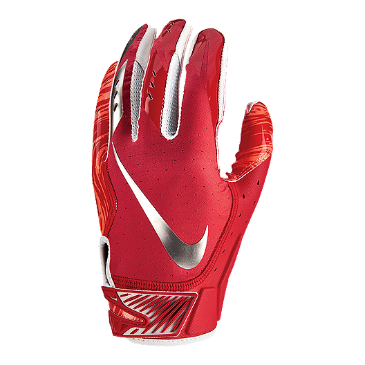 reputable site d809a eb4f4 Nike Vapor Jet 5.0 Football Gloves - Red Chrome   Sport Chek