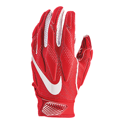 335f0788 Nike Superbad 4.5 Football Gloves - Red/White