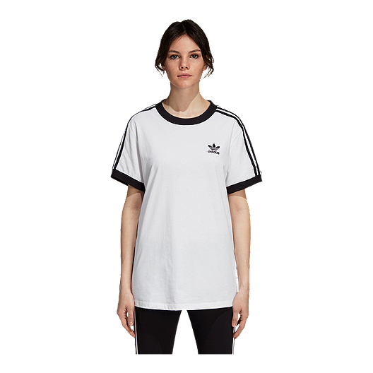 313c729ef4 adidas Originals Women's 3 Stripe T Shirt | Sport Chek