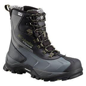 a32bf516c77cb Columbia Men s Powderhouse Titanium Omni-Heat 3D OutDry Winter Boots -  Black Mosstone