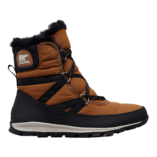 19d9c3b923282 Sorel Women s Whitney Short Lace Winter Boots - Camel Brown