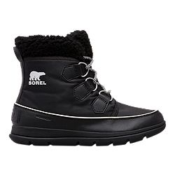 41cc63876a0 image of Sorel Women s Explorer Carnival Winter Boot - Black with  sku 332602108