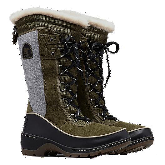 50f69333f6e5 Sorel Women s Tivoli III High Winter Boots - Nori Black