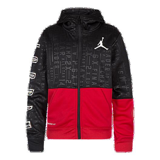 c4addc8dedf58e Nike Jordan Boys  23 Tech Accolades Full Zip Hoodie