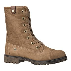 8221c34b09a9 Roxy Women's Bruna Plaid Boots - Tan