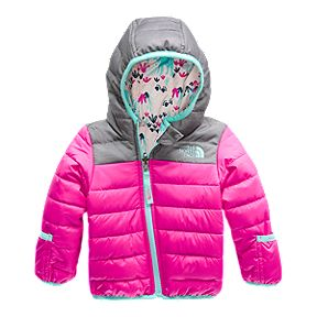 1e0651ac667 The North Face Baby Girls  Perrito Reversible Jacket