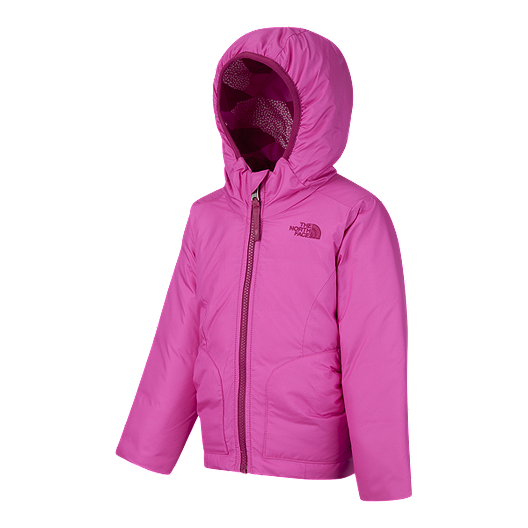 5e0c5987f The North Face Toddler Girls' Perrito Reversible Jacket