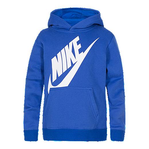 1dd0863bc Nike Boys' 4-7 Futura Fleece Pullover Hoodie - GAME ROYAL