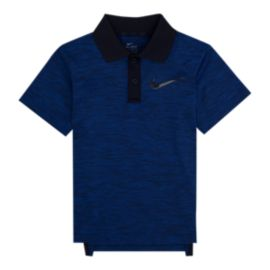 Nike Boys' 4-7 DF Cross Dye Heather Polo Shirt
